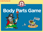 Body Parts Pirate