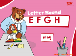 Ee to Hh Letter & Sound