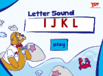 Ii to Ll Letter & Sound