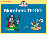 Numbers 11-100