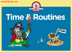 Time And Routines Pirate