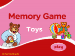 Toys Memory