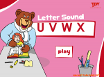 Uu to Xx Letter & Sound